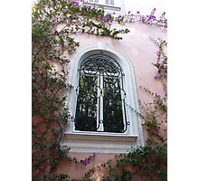 Window On Cap Ferrat Photographic Print