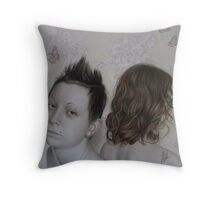 """Amata Phegea & Danaus Plexippus"",2011  Throw Pillow"