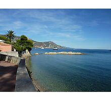 View from Cap Ferrat Photographic Print