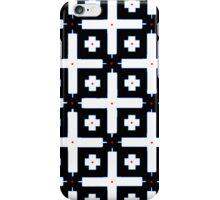 Geometric in Black and White iPhone Case/Skin