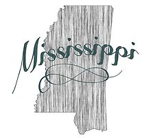 Mississippi State Typography by surgedesigns