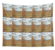 Aspens from Highway 24  Wall Tapestry