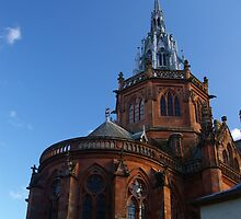 Mount Stuart Chapel Exterior by Susan Dailey