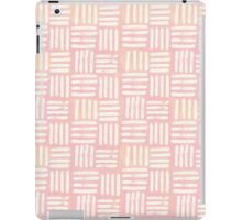 Peach Lines iPad Case/Skin