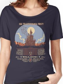 See Castlevania First! Women's Relaxed Fit T-Shirt
