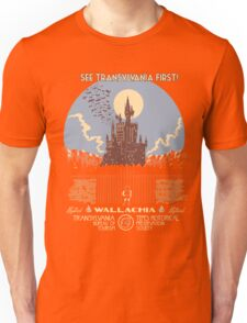 See Castlevania First! Unisex T-Shirt