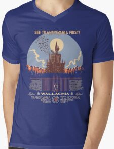 See Castlevania First! Mens V-Neck T-Shirt