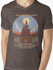 See Castlevania First! Mens V-Neck T-Shirt