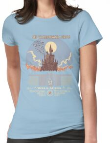 See Castlevania First! Womens Fitted T-Shirt