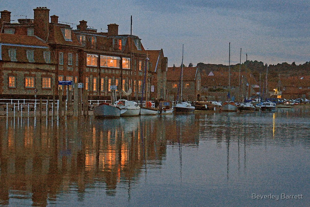 Blakeney at Dusk by Beverley Barrett