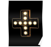 Marquee Cross Poster