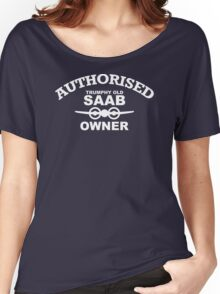 SALE 1 only large SAAB 9-3 9-5 9000 CONVERTIBLE FUNNY HOODY shirt Women's Relaxed Fit T-Shirt