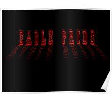 Eagle Pride - In Black Poster