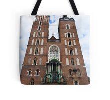 Church of Saint Mary. Tote Bag