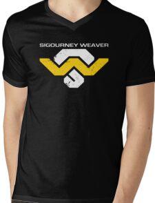 Sig Weav Mens V-Neck T-Shirt