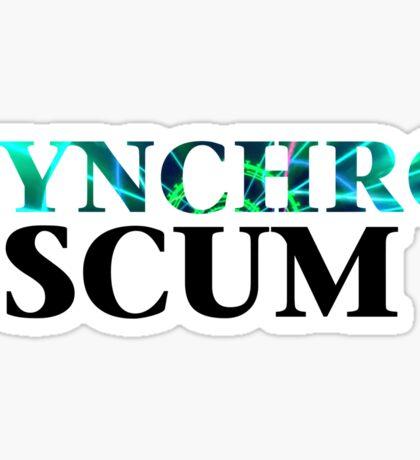 Yugioh Synchro Scum Arc V Sticker