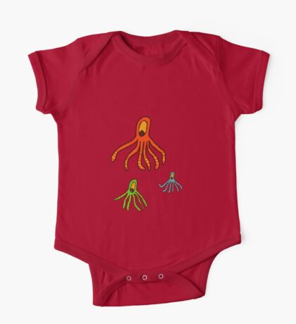 Octopus for kids tee One Piece - Short Sleeve