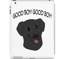 Good Boy! Black Labrador iPad Case/Skin