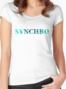 Yugioh Synchro Scum Arc V Women's Fitted Scoop T-Shirt