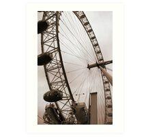 The London Eye • London, UK Art Print
