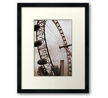 The London Eye • London, UK Framed Print