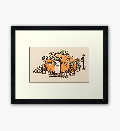 Riches to Rags Framed Print