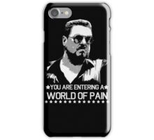 World of Pain Funny Movie Funny Cotton S-XXL Adult T Shirt iPhone Case/Skin
