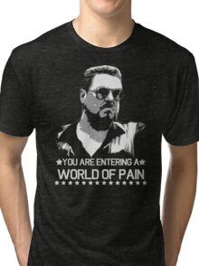 World of Pain Funny Movie Funny Cotton S-XXL Adult T Shirt Tri-blend T-Shirt