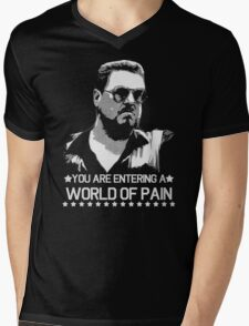 World of Pain Funny Movie Funny Cotton S-XXL Adult T Shirt Mens V-Neck T-Shirt