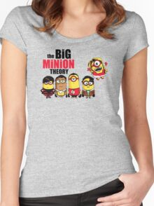The theory t-shirt funny Mini Banana tee Women's Fitted Scoop T-Shirt