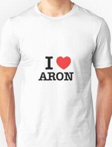 I Love ARON T-Shirt