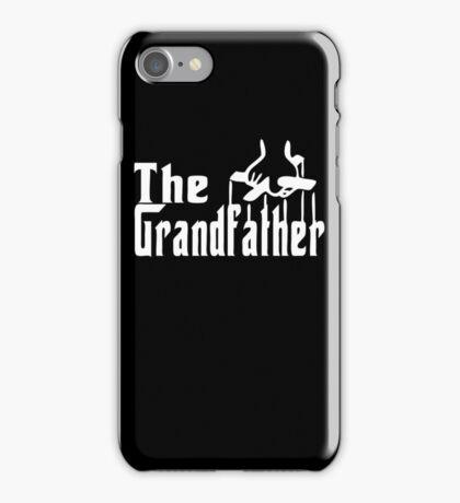 The Grandfather Funny T-shirt Parody Godfather Tee Shirt Grandpa Birthday Gift iPhone Case/Skin