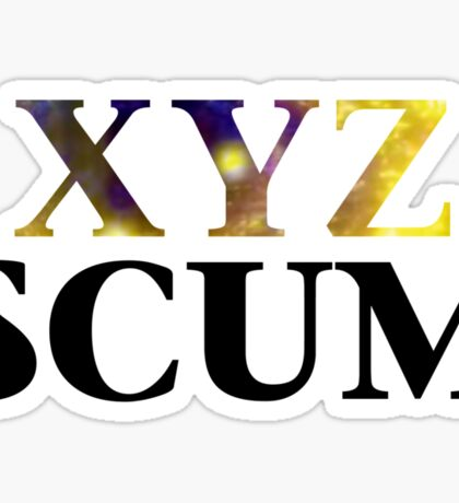 Yugioh XYZ Scum Arc V Sticker