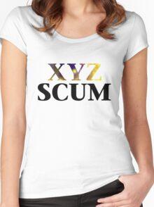 Yugioh XYZ Scum Arc V Women's Fitted Scoop T-Shirt