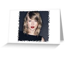 Taylor Swift Dry Brush Greeting Card