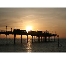 Teignmouth Pier, Devon, England Photographic Print