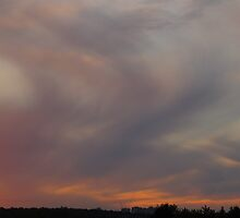 Dusty pastel sunset by MarianBendeth