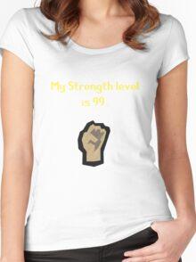 Runescape Strength Tshirt Women's Fitted Scoop T-Shirt