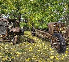 Rust in Peace HDR by Myron Watamaniuk