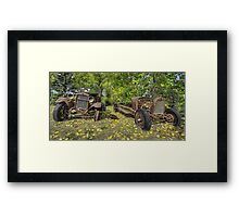 Rust in Peace HDR Framed Print