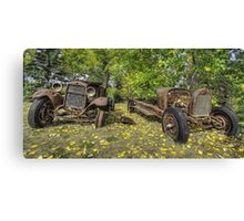 Rust in Peace HDR Canvas Print