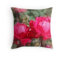 Lovely Sisters Throw Pillow
