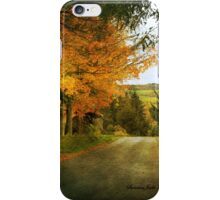 Going Home to the Hills and Valleys iPhone Case/Skin