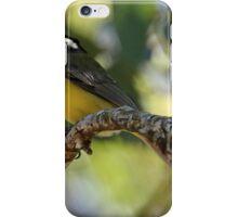 Crested Shrike-tit iPhone Case/Skin