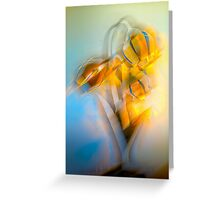 Lamplight : Color Abstract Greeting Card