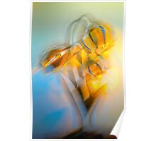 Lamplight : Color Abstract Poster