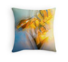 Lamplight : Color Abstract Throw Pillow