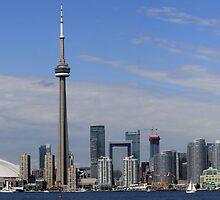 Toronto Skyline by NewfieKeith