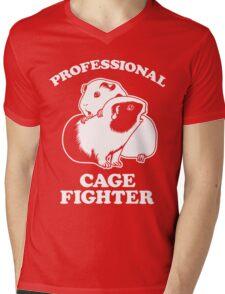 Professional Cage Fighter Mens V-Neck T-Shirt