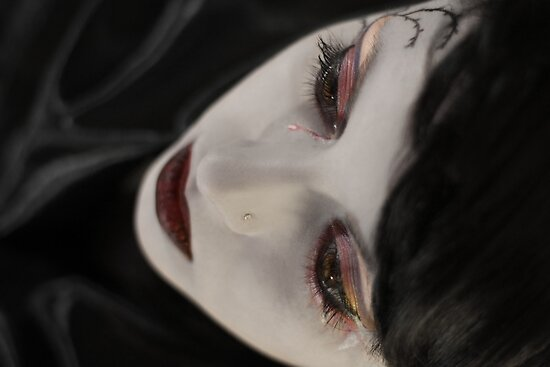 Blood tears by KERES Jasminka